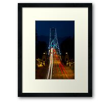 Lions Gate Bridge Framed Print