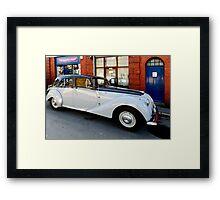 Aston Martin Lagonda 2.6 Saloon Framed Print