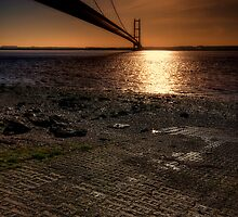 The Humber Bridge by Stephen Smith