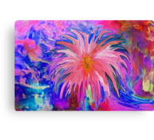 Weeping flower Canvas Print