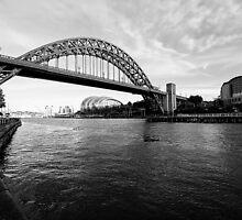 Tyne Bridge by English Landscape Prints