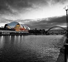 The River Tyne by English Landscape Prints