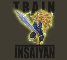 Train Insaiyan Future Trunks Sjj 3 Sword by BadrHoussni