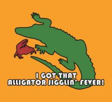 Alligator Jigglin' Fever by pamelahoward