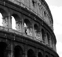 Before entering the Colosseum (Phone Case) by Baha Mosa