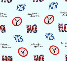 Scottish independence referendum yes or no. Wallpaper by stuwdamdorp