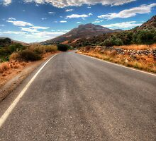The Road To Sissi by English Landscape Prints