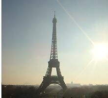 eiffel tower, paris by DebbieWhite88