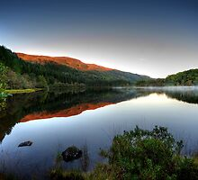 Loch Chon by English Landscape Prints