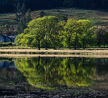 Loch Lubnaig by English Landscape Prints