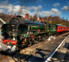Grosmont by English Landscape Prints