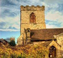 St Marys Church, York by English Landscape Prints
