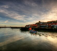 River Esk, Whitby by English Landscape Prints