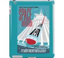 Space Mountain Ride Poster iPad Case/Skin