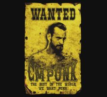 WANTED PUNK by TOPZtees