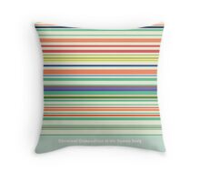 Chemical Composition of the Human Body Throw Pillow