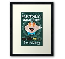 Mr. Toad's Wild Ride Framed Print