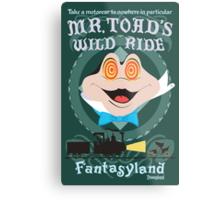 Mr. Toad's Wild Ride Metal Print
