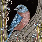 Mr Bluebird by Anita Inverarity