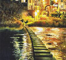 Morpeth Stepping Stones by Jan Szymczuk