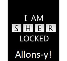 Sherlock/Doctor Who  Sherlocked Alons-y by Rosalicious19