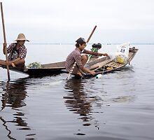 fishermen by Anne Scantlebury