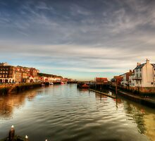 River Esk, Whitby by Stephen Smith