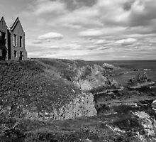 Slains Castle, Cruden Bay by Annette S Thomson
