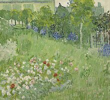 Vincent van Gogh - Daubigny's garden by TilenHrovatic