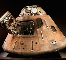 Apollo 14 Capsule by David Lamb