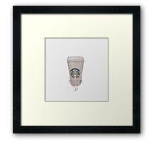 Starbucks Perfection Framed Print