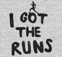 I got the runs t-shirt for runners T-Shirt
