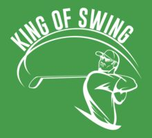King of Swing T-Shirt by sportsfan
