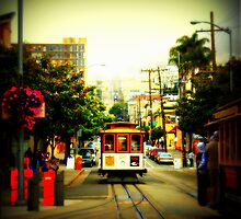 San Francisco Trolley by Chromatic Reflections