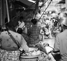 Mae Sot Morning Market by portiawatson