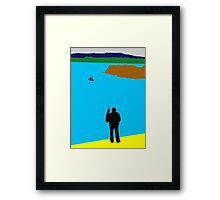 A Man and His Hobbie Framed Print
