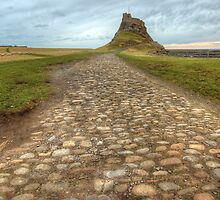 Lindisfarne Castle by English Landscape Prints