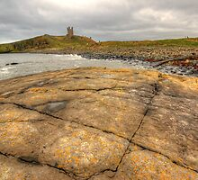 Dunstanburgh Castle by English Landscape Prints