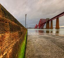 Forth Rail Bridge by English Landscape Prints
