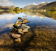 Grasmere, Lake District by English Landscape Prints