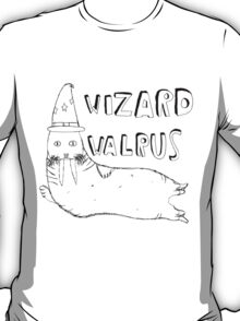 Wizard Walrus (black) T-Shirt