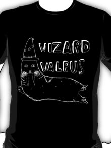 Wizard Walrus (white) T-Shirt