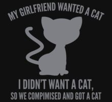 We Compromised And Got A Cat by BrightDesign