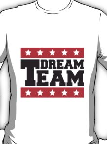 Text logo star design some friends dream team T-Shirt