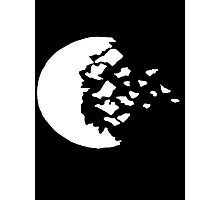 rwby fractured moon white  Photographic Print