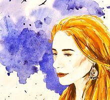 Her wind by Aleksandra Kabakova