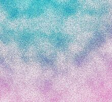 Cloudy Pink and Aqua by lolohannah