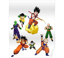 the z fighters Poster