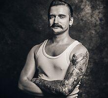 Mustache III by liquornoire