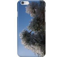 Ice Flowers in the Sky iPhone Case/Skin